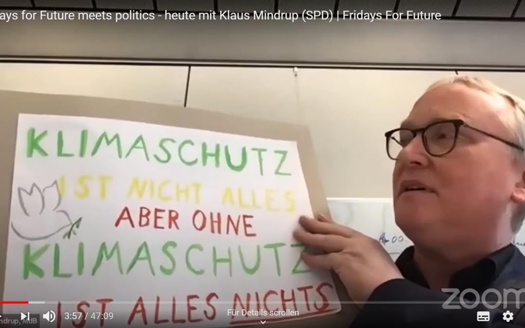 """Abgeordnete im Video-Interview: """"Corona, Klima, Krisenschutz"""""""